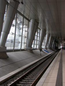 Airrail 1 Fernbahnhof Frankfurt gebo Punkthalter AK A 60