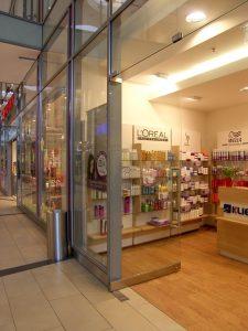 Andernach Einkaufzentrum gebo Klemmschienen