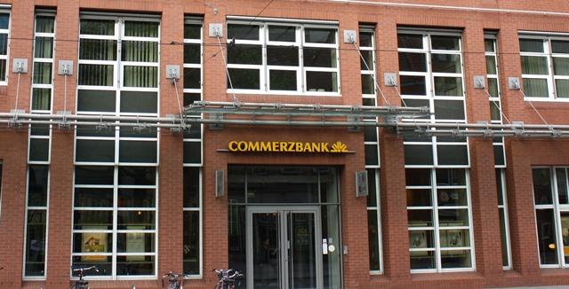 Commerzbank Bremen gebo-Punkthalter AK A 70 02