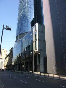 gebo Maintower Haupteingang Frankfurt
