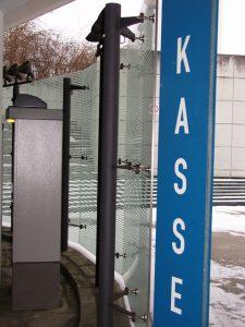 Parkhauskassenbereich Flughafen Stuttgart gebo 3