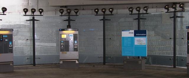 Parkhauskassenbereich Flughafen Stuttgart gebo 4