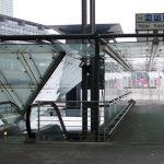 Parkhausuebergang Flughafen Stuttgart gebo AK A 70 1