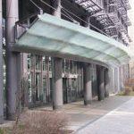 gebo T-Systems Vordach Frankfurt