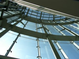 UFA Palast Stuttgart gebo- Isolierglassenkhalter ZK CI 4670