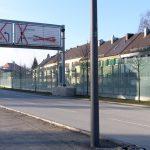 gebo Punkthalter AKA 70 Lärmschutzwände Isarring Effnerstr. München 01