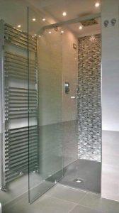 Minusco SLASH Hydraulik Duschtuersystem Einbau