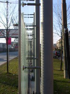 gebo PunkthalterAKA 70-Lärmschutzwände-Isarring-Effnerstraße München 3