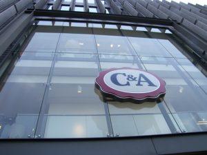C & A Ku'damm Berlin gebo-Punkthalter ZK C 46/70 1