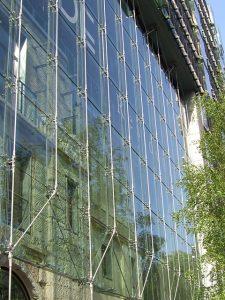 Sony Center Esplanade Berlin gebo Sonderhalter und Spider