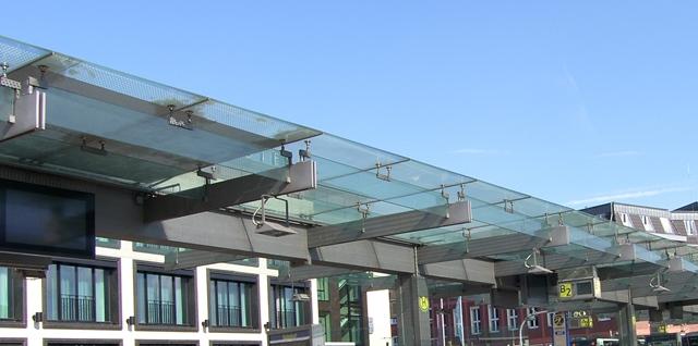Bahnhofsvorplatz Euskirchen gebo-Punkthalter AK A 60