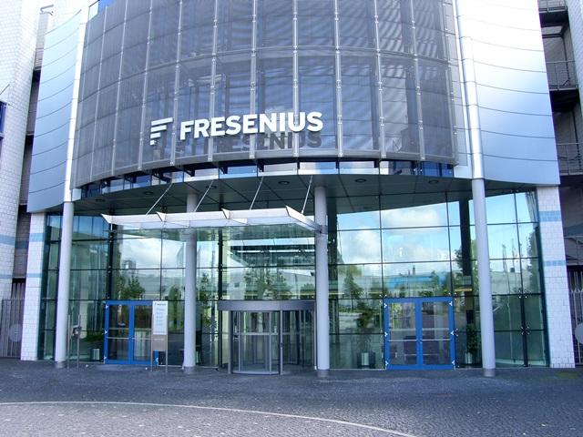 Fresenius Zentrale Bad Homburg gebo Punkthalter