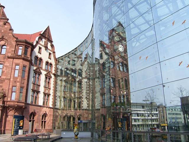 Stadthaus Dortmund gebo tellerhalter AK A 70